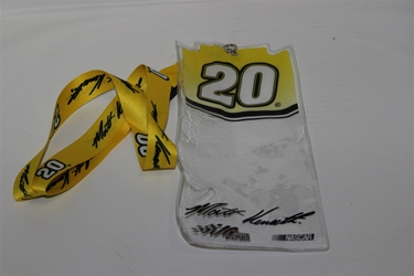 Matt Kenseth #20 Red Top Credential Holder and Lanyard Matt Kenseth nascar diecast, diecast collectibles, nascar collectibles, nascar apparel, diecast cars, die-cast, racing collectibles, nascar die cast, lionel nascar, lionel diecast, action diecast, university of racing diecast, nhra diecast, nhra die cast, racing collectibles, historical diecast, nascar hat, nascar jacket, nascar shirt, R and R
