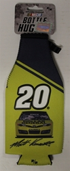 Matt Kenseth # 20 Yellow and Blue Dollar General Bottle Coozie Matt Kenseth nascar diecast, diecast collectibles, nascar collectibles, nascar apparel, diecast cars, die-cast, racing collectibles, nascar die cast, lionel nascar, lionel diecast, action diecast,racing collectibles, historical diecast,coozie,hugger