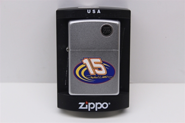 Michael Waltrip #15 Swoosh Zippo Lighter NASCAR, DIECAST, TRINKET, GLASSWARE, STICKER, RC, DALE, EARNHARDT, JEFF GORDON, GORDON, DISCOUNT, CLEARANCE, HENDRICKS,MICHAEL WALTRIP