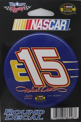 "Michael Waltrip 2004 #15 Round 3"" Vinyl Decal Michael Waltripr nascar diecast, diecast collectibles, nascar collectibles, nascar apparel, diecast cars, die-cast, racing collectibles, nascar die cast, lionel nascar, lionel diecast, action diecast, university of racing diecast, nhra diecast, nhra die cast, racing collectibles, historical diecast, nascar hat, nascar jacket, nascar shirt"