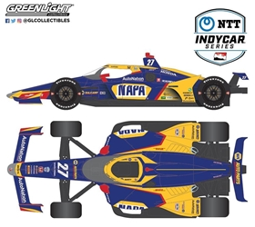 *Preorder* Alexander Rossi / Andretti Autosport #27 NAPA Auto Parts 1:64 2021 NTT IndyCar Series Alexander Rossi,1:64,diecast,greenlight,indy