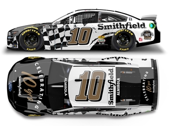 *Preorder* Aric Almirola 2021 Smithfield 10 Years 1:24 Color Chrome Nascar Diecast Aric Almirola, Nascar Diecast,2020 Nascar Diecast,1:24 Scale Diecast, pre order diecast