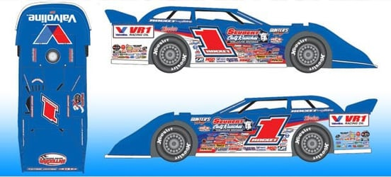 *Preorder* Brandon Sheppard 2021 #1 1:24 Dirt Late Model Diecast Brandon Sheppard, 2021 Dirt Late Model Diecast, 1:24 Scale Diecast, pre order diecast