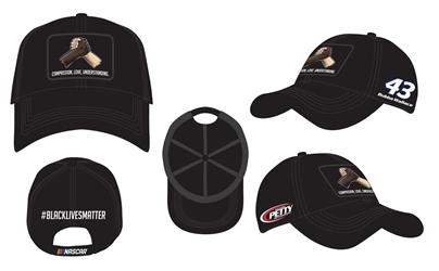*Preorder* Bubba Wallace #BlackLivesMatter OSFM Adjustable Hat Bubba Wallace, #BlackLivesMatter, 2020 Nascar Diecast, Hat, OSFM