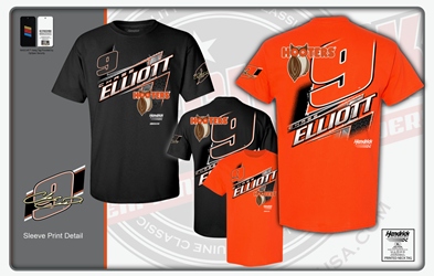 *Preorder* Chase Elliott Hooters Black Lifestyle Adult Tee Chase Elliott, shirt, nascar, hooters
