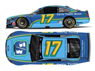 *Preorder* Chris Buescher 2021 Fifth Third Bank 1:24 Color Chrome Nascar Diecast Chris Buescher, Nascar Diecast,2021 Nascar Diecast,1:24 Scale Diecast, pre order diecast