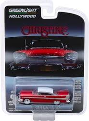 *Preorder* Christine (1983) 1:64 1958 Plymoth Fury Solid Pack Christine, Movie Diecast, 1:64 Scale