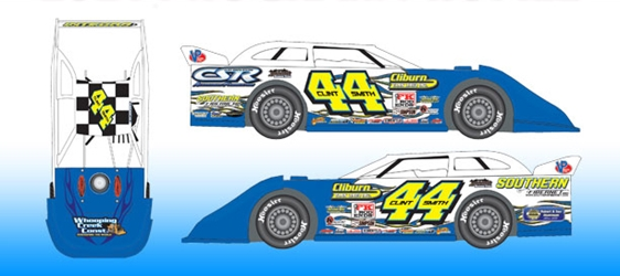 *Preorder* Clint Smith 2021 #44 1:24 Dirt Late Model Diecast Clint Smith, 2021 Dirt Late Model Diecast, 1:24 Scale Diecast, pre order diecast