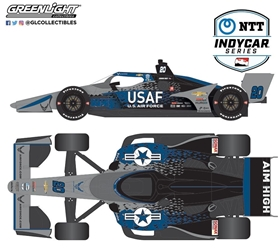 *Preorder* Conor Daly / Ed Carpenter Racing #20 U.A. Air Force 1:18 2021 NTT IndyCar Series Conor Daly, 2021, 1:18, diecast, greenlight, indy