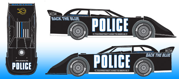 *Preorder* Freddie Carpenter 2021 #0k POLICE 1:24 Dirt Late Model Diecast Freddie Carpenter, #0k POLICE, 2021 Dirt Late Model Diecast, 1:24 Scale Diecast, pre order diecast