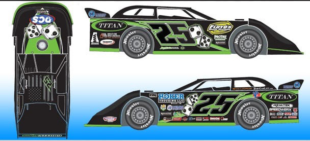 *Preorder* Jason Feger 2021 #25 1:24 Dirt Late Model Diecast Jason Feger, 2021 Dirt Late Model Diecast, 1:24 Scale Diecast, pre order diecast