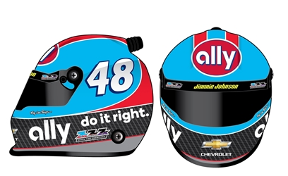 *Preorder* Jimmie Johnson 2020 Darlington Throwback MINI Replica Helmet Jimmie Johnson, mini helmet, darlington throwback