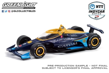 *Preorder* Jimmie Johnson / Chip Ganassi Racing #48 Carvana 1:64 2021 NTT IndyCar Series Jimmie Johnson,1:64,diecast,greenlight,indy