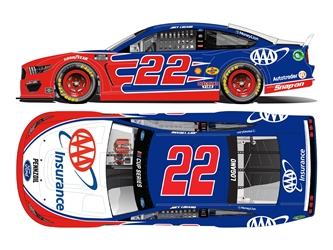 *Preorder* Joey Logano 2021 AAA Insurance 1:24 Nascar Diecast Joey Logano Nascar Diecast,2021 Nascar Diecast,1:24 Scale Diecast,pre order diecast