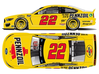 *Preorder* Joey Logano Autographed 2021 Pennzoil 1:24 Nascar Diecast Joey Logano Nascar Diecast,2021 Nascar Diecast,1:24 Scale Diecast,pre order diecast