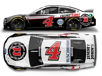 *Preorder* Kevin Harvick 2021 Jimmy Johns 1:24 Color Chrome Nascar Diecast Kevin Harvick Nascar Diecast,2021 Nascar Diecast,1:24 Scale Diecast, pre order diecast