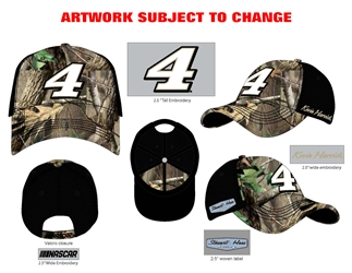 *Preorder* Kevin Harvick Camo Number Adult Hat Kevin Harvick, NASCAR Cup Series, SHR