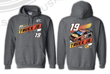 *Preorder* Martin Truex Jr Bass Pro Shops 2-Spot Hoodie Grey Martin Truex Jr, Bass Pro Shops, apparel