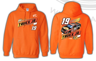 *Preorder* Martin Truex Jr Bass Pro Shops 2-Spot Hoodie Orange Martin Truex Jr, Bass Pro Shops, apparel