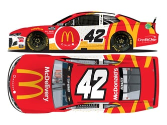 *Preorder* Matt Kenseth 2020 McDonalds McDelivery All-Star 1:24 Nascar Diecast Matt Kenseth Nascar Diecast,2020 Nascar Diecast,1:24 Scale Diecast,pre order diecast, 2020 All-Star