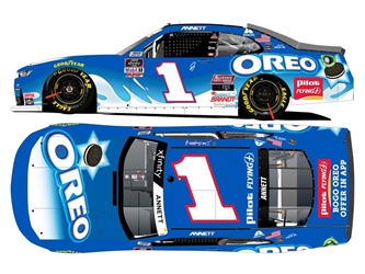 *Preorder* Michael Annett / Dale Jr Dual Autographed 2020 Oreo Darlington Throwback 1:24 Nascar Diecast Michael Annett Nascar Diecast,2020 Nascar Diecast,1:24 Scale Diecast,pre order diecast