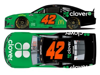 *Preorder* Ross Chastain Autographed 2021 Clover 1:24 Nascar Diecast Ross Chastain, Nascar Diecast,2021 Nascar Diecast,1:24 Scale Diecast, pre order diecast