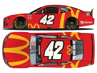 *Preorder* Ross Chastain 2021 McDonalds 1:24 Color Chrome Nascar Diecast Ross Chastain, Nascar Diecast,2021 Nascar Diecast,1:24 Scale Diecast, pre order diecast