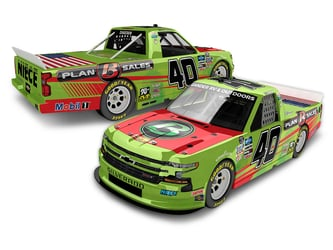 *Preorder* Ross Chastain Autographed 2020 Plan B Sales Watermelon 1:24 Color Chrome Nascar Diecast Ross Chastain diecast, 2020 nascar diecast, pre order diecast