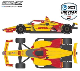 *Preorder* Ryan Hunter Reay / Andretti Autosport #28 DHL 1:64 2021 NTT IndyCar Series Ryan Hunter Reay, 1:64, diecast, greenlight, indy
