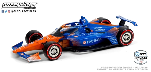 *Preorder* Scott Dixon / Chip Ganassi Racing #9 PNC Bank 1:18 2020 NTT IndyCar Series Champion Scott Dixon,2020,1:18,diecast,greenlight,indy