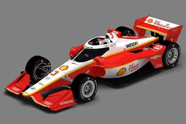 *Preorder* Scott McLaughlin / Team Penske #3 Shell V-Power Nitro+ 1:64 2020 NTT IndyCar Series Scott McLaughlin,1:64,diecast,greenlight,indy