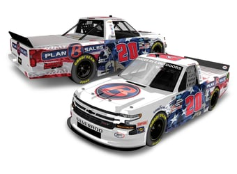 *Preorder* Spencer Boyd 2020 Plan B Sales Veterans Day 1:24 Nascar Diecast Spencer Boyd diecast, 2020 nascar diecast, pre order diecast, NAME ON CAR, Veteranss Day