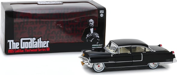 *Preorder* The Godfather (1972) 1:24 - 1955 Cadillac Fleetwood Series 60 The Godfather, Movie Diecast, 1:24 Scale, 1955 Cadillac Fleetwood Series 60
