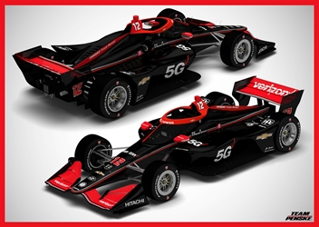 *Preorder* Will Power / Penske Racing #12 Verizon 5G 1:64 2021 NTT IndyCar Series Will Power,1:64,diecast,greenlight,indy
