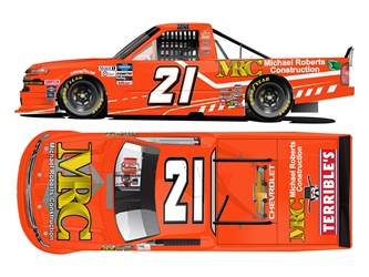 *Preorder* Zane Smith Autographed 2020 Michael Roberts Construction 1:24 Nascar Diecast Zane Smith diecast, 2020 nascar diecast, pre order diecast, autographed