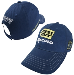 Ricky Stenhouse 2013 Best Buy Adult Official Pit Cap Hat Ricky Stenhouse Jr nascar diecast, diecast collectibles, nascar collectibles, nascar apparel, diecast cars, die-cast, racing collectibles, nascar die cast, lionel nascar, lionel diecast, action diecast, university of racing diecast, nhra diecast, nhra die cast, racing collectibles, historical diecast, nascar hat, nascar jacket, nascar shirt
