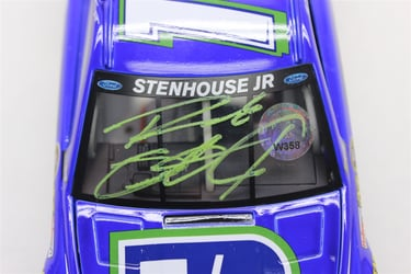 Ricky Stenhouse Autographed Paint Pen 2014 Fifth Third 1:24 Nascar Diecast Ricky Stenhouse Jr nascar diecast, diecast collectibles, nascar collectibles, nascar apparel, diecast cars, die-cast, racing collectibles, nascar die cast, lionel nascar, lionel diecast, action diecast, university of racing diecast, nhra diecast, nhra die cast, racing collectibles, historical diecast, nascar hat, nascar jacket, nascar shirt
