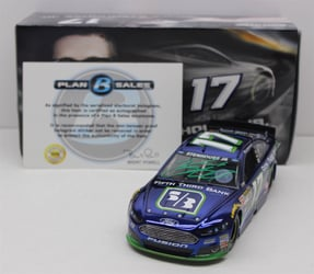 Ricky Stenhouse Autographed Paint Pen 2015 Fifth Third Bank 1:24 Color Chrome Nascar Diecast Ricky Stenhouse Jr diecast, 2015 nascar diecast, pre order diecast, Fifth Third Bank diecast