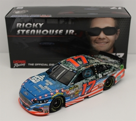 Ricky Stenhouse Jr 2014 Drives for One of Americas Bravest 1:24 Nascar Diecast Ricky Stenhouse Jr nascar diecast, diecast collectibles, nascar collectibles, nascar apparel, diecast cars, die-cast, racing collectibles, nascar die cast, lionel nascar, lionel diecast, action diecast, university of racing diecast, nhra diecast, nhra die cast, racing collectibles, historical diecast, nascar hat, nascar jacket, nascar shirt
