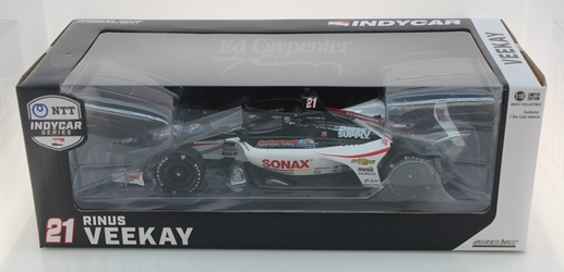 Rinus VeeKay / Ed Carpenter Racing #21 SONAX  1:18 2020 NTT IndyCar Series Rinus VeeKay 2020 1:18,diecast,greenlight,indy,f1