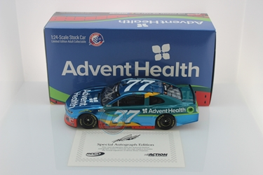 Ross Chastain Autographed 2020 AdventHealth 1:24 Liquid Color Nascar Diecast Ross Chastain Nascar Diecast,2020 Nascar Diecast,1:24 Scale Diecast,pre order diecast