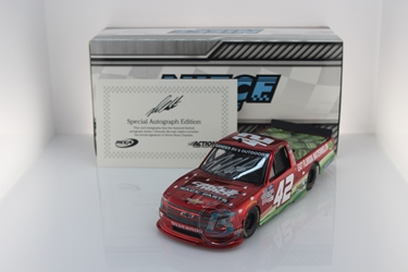 Ross Chastain Autographed 2020 Circle Track Warehouse / Florida Watermelon Association 1:24 Color Chrome Nascar Diecast Ross Chastain diecast, 2020 nascar diecast, pre order diecast
