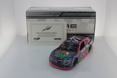 Ross Chastain Autographed 2020 Melon Man Brand 1:24 Color Chrome Nascar Diecast Ross Chastain, Nascar Diecast,2020 Nascar Diecast,1:24 Scale Diecast, pre order diecast