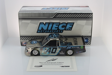 Ross Chastain Autographed 2020 Plan B Sales 1:24 Color Chrome Nascar Diecast Ross Chastain diecast, 2020 nascar diecast, pre order diecast