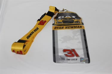 Ryan Newman #31 Car Top Credential Holder and Lanyard Ryan Newman nascar diecast, diecast collectibles, nascar collectibles, nascar apparel, diecast cars, die-cast, racing collectibles, nascar die cast, lionel nascar, lionel diecast, action diecast, university of racing diecast, nhra diecast, nhra die cast, racing collectibles, historical diecast, nascar hat, nascar jacket, nascar shirt, R and R