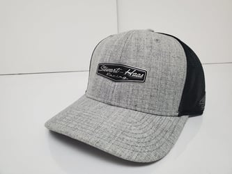 Stewart Haas Racing Team #s Grey/Black w/Chrome Logo Adjustable Hat - OSFM kevin harvick, cole custer, chase briscoe, aric almirola, clint bowyer, hat, nascar, apparel
