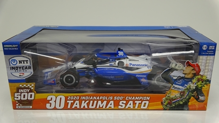Takuma Sato 2020 #30 Panasonic Indianapolis 500 Champion 1:18 Indy Car Diecast (Name) 2020 #(Number) (Sponsor) Indianapolis 500 Champion 1:18 Indy Car Diecast, diecast collectibles, nascar collectibles, nascar apparel, diecast cars, die-cast, racing collectibles, nascar die cast, lionel nascar, lionel diecast, action diecast, university of racing diecast, nhra diecast, nhra die cast, racing collectibles, historical diecast, nascar hat, nascar jacket, nascar shirt