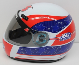 Trevor Bayne 2015 Advocare Mini Replica Helmet Trevor Bayne nascar diecast, diecast collectibles, nascar collectibles, nascar apparel, diecast cars, die-cast, racing collectibles, nascar die cast, lionel nascar, lionel diecast, action diecast, university of racing diecast, nhra diecast, nhra die cast, racing collectibles, historical diecast, nascar hat, nascar jacket, nascar shirt