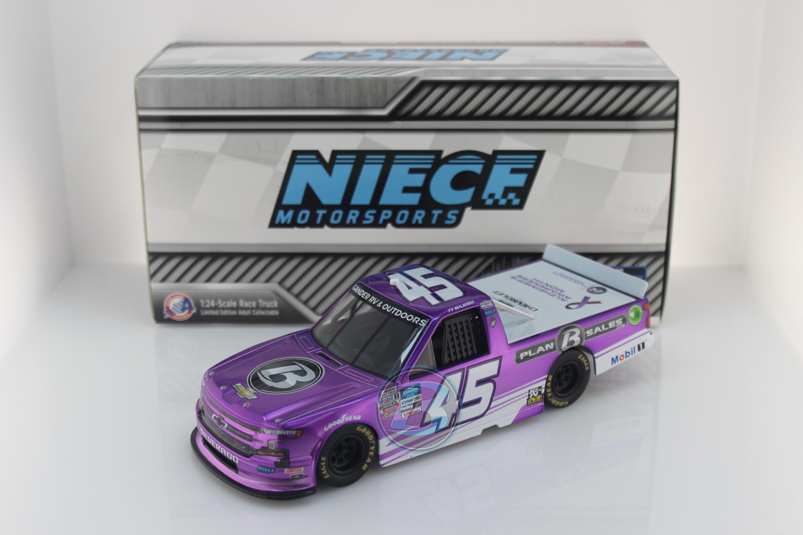 Lionel Racing Ty Majeski 2020 Plan B Sales//Alzheimers Awareness Month 1:64 Nascar Diecast