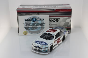 Ty Majeski Autographed 2018 Ford Mustang 1:24 Nascar Diecast Ty Majeski Nascar Diecast,2018 Nascar Diecast,1:24 Scale Diecast,pre order diecast
